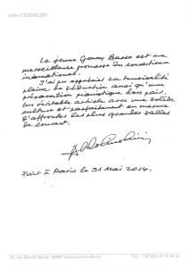 lettera ciccolini
