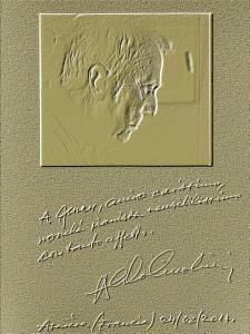 Aldo Ciccolini per lettera oro