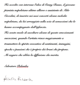 Lettera Palomba
